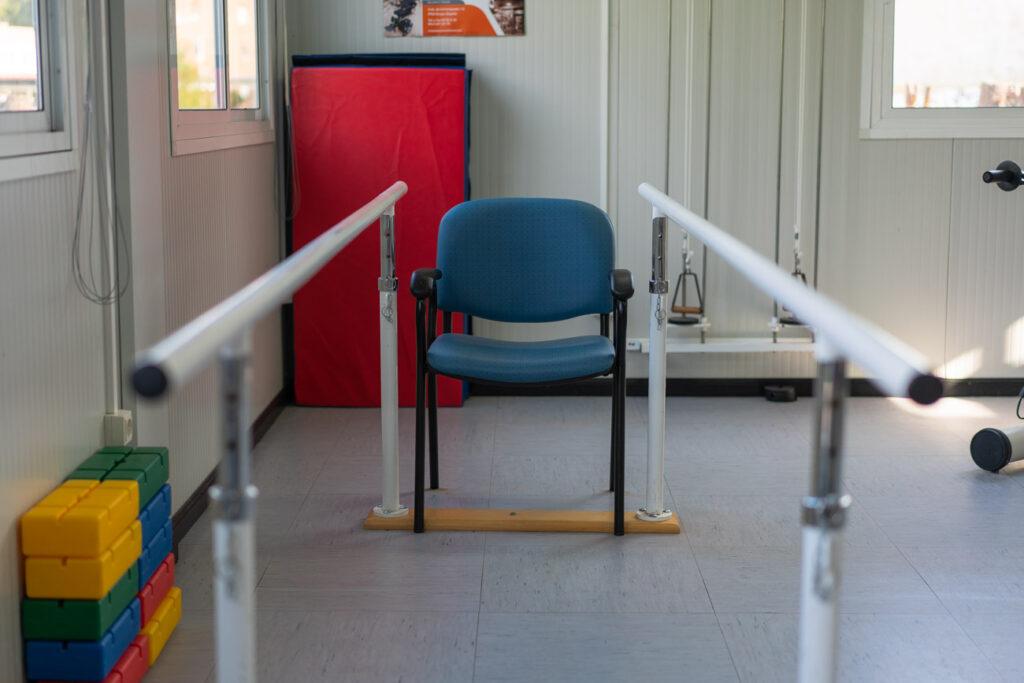 Espacio para rehabilitación en el Centro Gerontológico Burgos