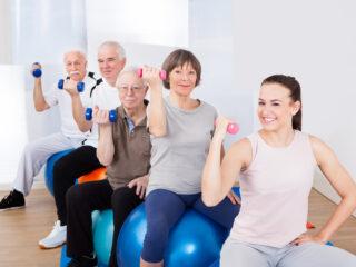 El ejercicio físico en personas mayores